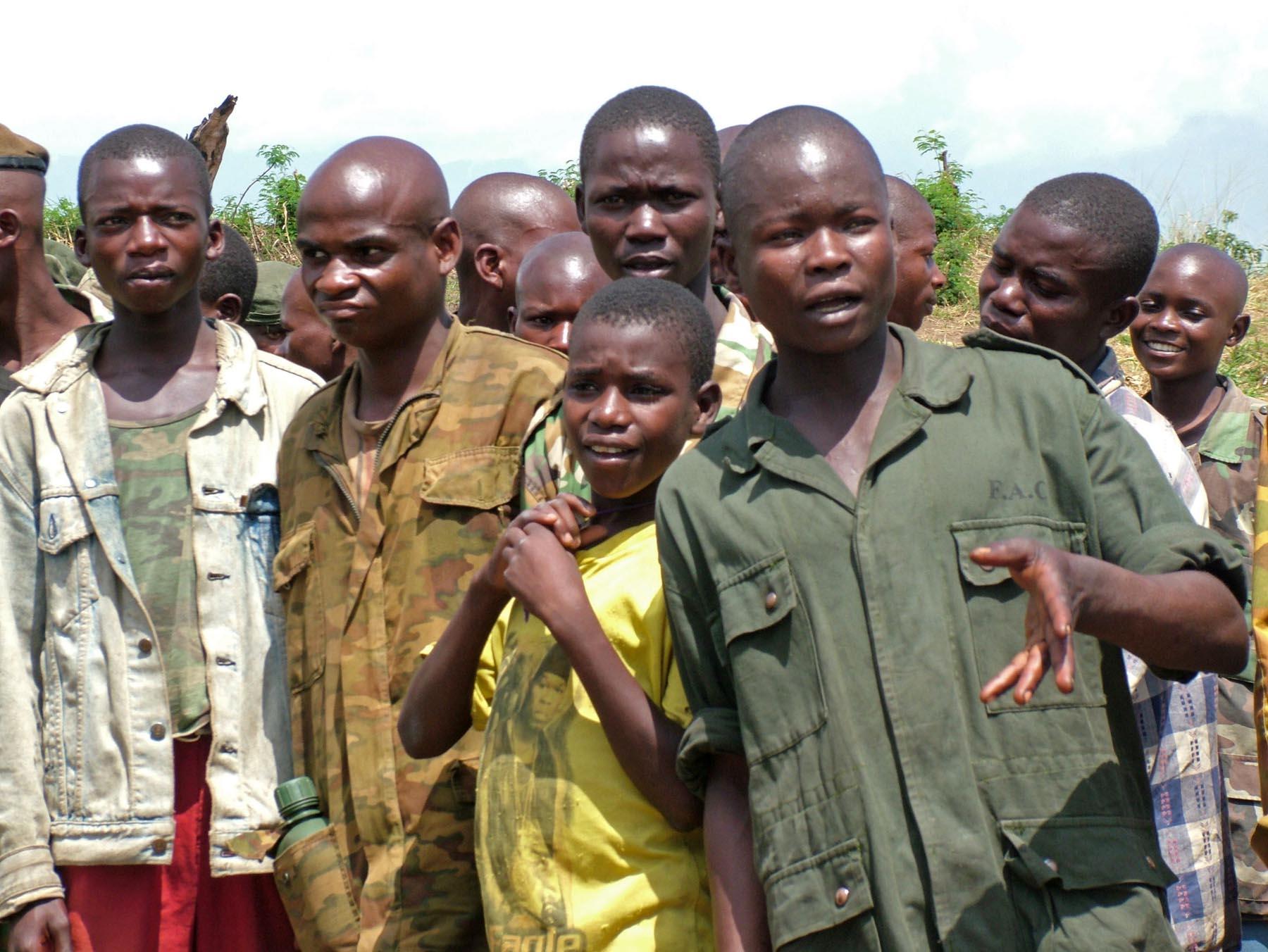 El reclutamiento y la utilización de menores en el marco de los conflictos armados en África